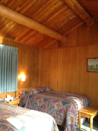 Yellowstone Valley Inn: Inside our cabin