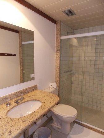 Pisa Plaza Hotel: Banheiro