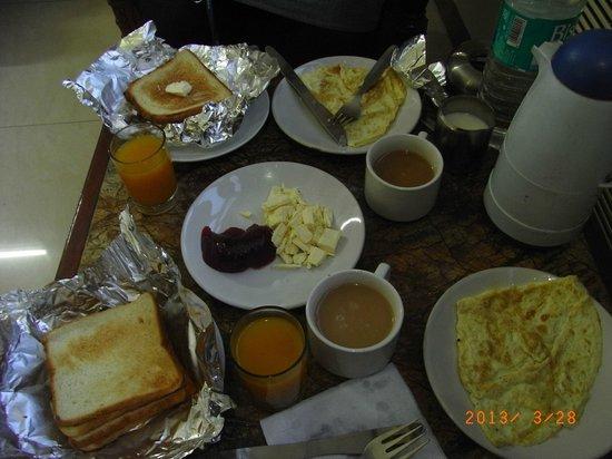 ホテル サンスター ヘリテージ, 朝食