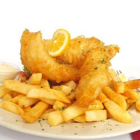 Argosy Cafe + Take Away: Fish and Chips - YUMMO!