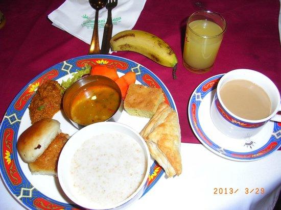 Hotel Maharani Plaza : 朝食