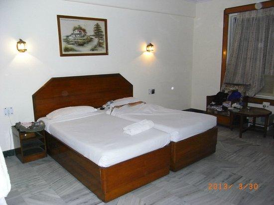 Hotel Ganga Ratan: ツインルーム