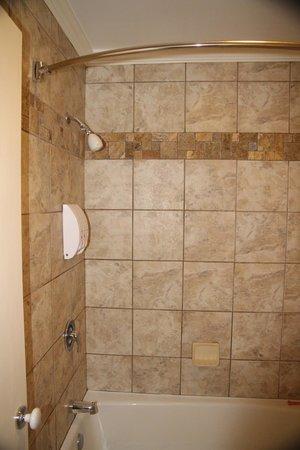 Townsend Gateway Inn: The bathroom area