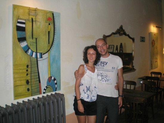 Hotel Azzi - Locanda degli Artisti: La foto ricordo!
