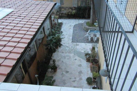 Hotel Rita Major Florence : affaccio sul cortile
