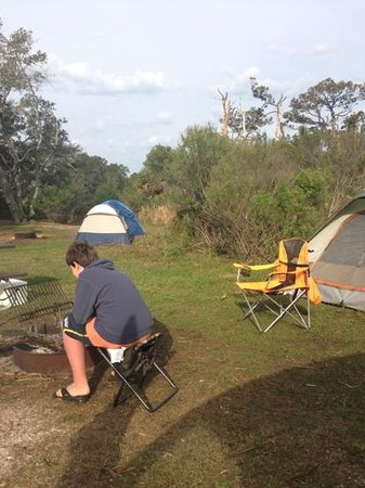 Fort Pickens Campground : camping at fort pickens