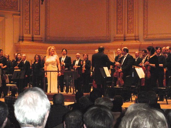 Carnegie Hall: Michelle de Young and the Boston Symphony Orchestra