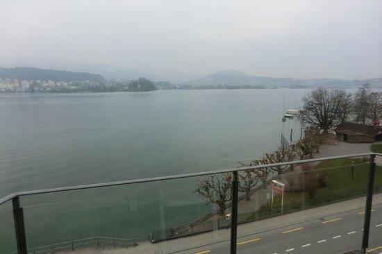 Hotel Seeburg: Panorama dalla camera