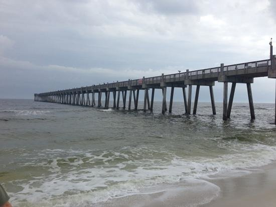 Pensacola beach gulf pier 2018 all you need to know for Pensacola beach fishing pier