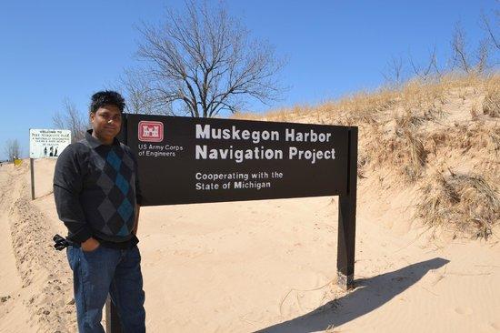Pere Marquette Park: Muskegon Harbor