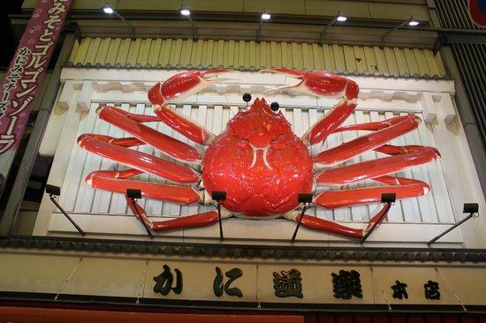 giant crab that moves 大阪市 道頓堀 の写真 トリップアドバイザー