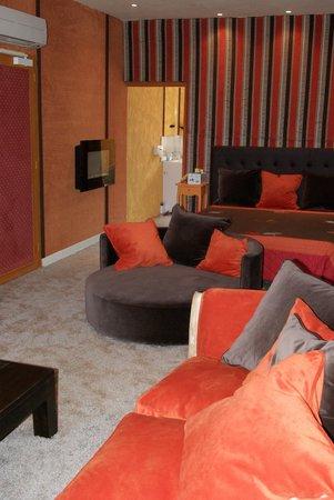 Hostellerie Saint-Jacques: notre chambre