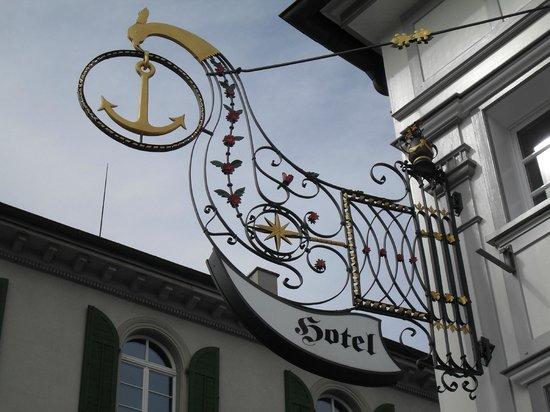Teufen, Switzerland: Das Symbol vom ANKER