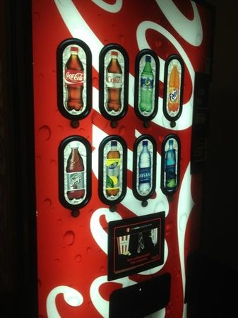 Super 8 Danville: pop machine