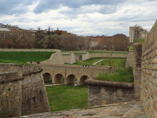 Conjunto Fortificado de Pamplona: vista de ciudadela