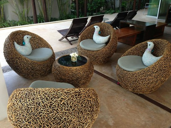 Haven Resort: nice chair in lobby