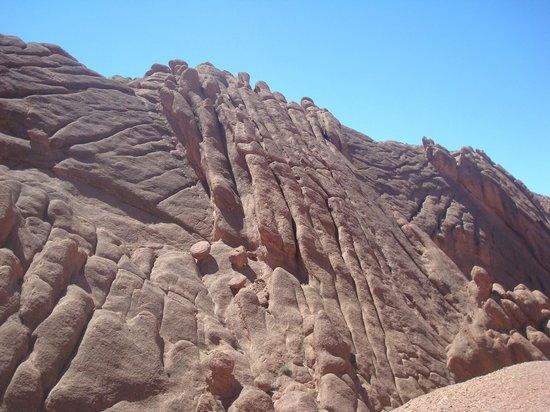 Boumalne Dades, Marokko: Doigts de singes dans les gorges du Dadès