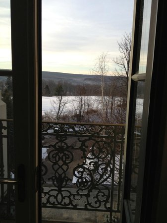 "Nemacolin Woodlands Resort & Spa: Useless but picturesque ""balcony"""
