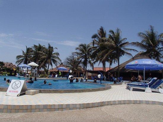 Ramada Resort Accra Coco Beach Pool Area