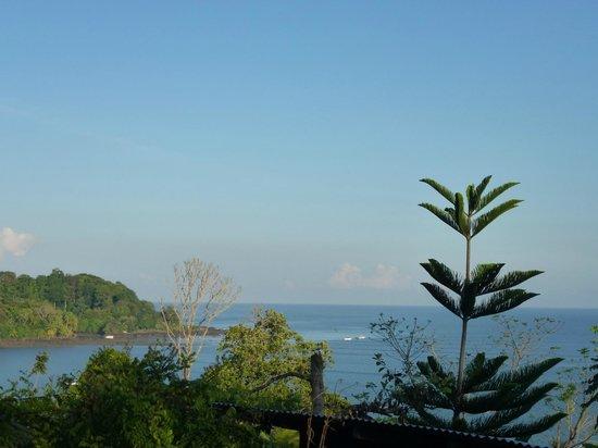 Cabinas Murillo: vue de la terrasse
