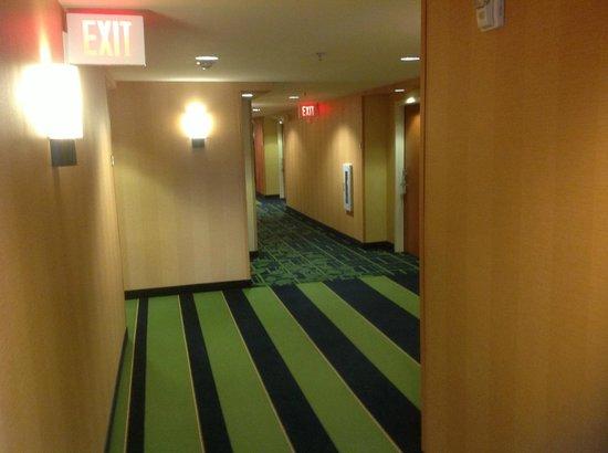 Fairfield Inn & Suites Titusville Kennedy Space Center: Hall way