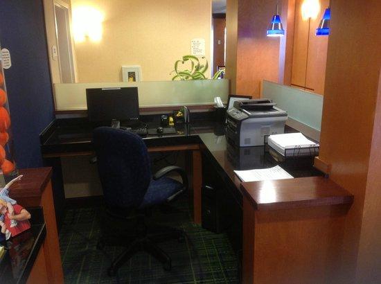 Fairfield Inn & Suites Titusville Kennedy Space Center: Work area