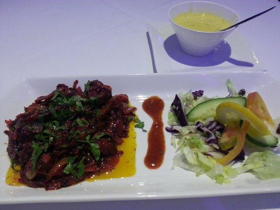 Masalla Lounge: Venison starter