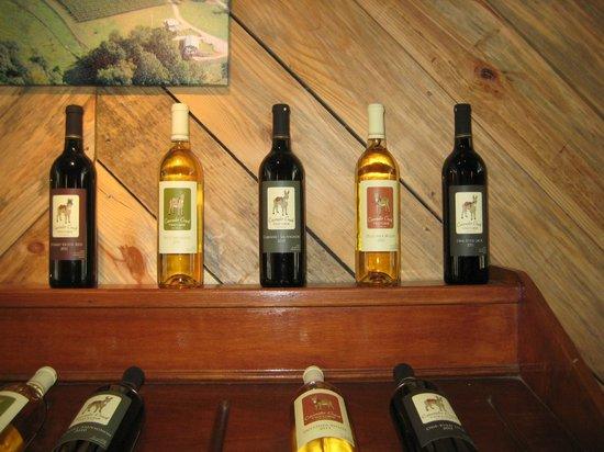 Cavender Creek Vineyards : Wine