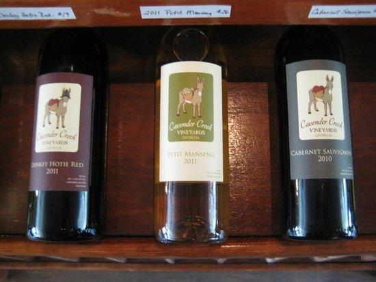Cavender Creek Vineyards : Donkey Hote
