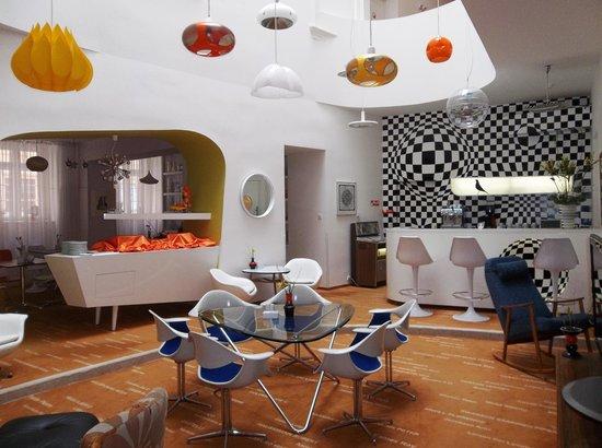 Vintage Design Hotel Sax: Breakfast room