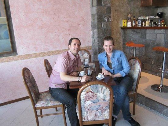 Piccolo Hotel: Claudio e Tanja Trieste