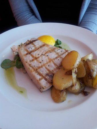 Saffrons Bistro: Chargrilled Swordfish special