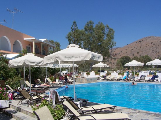 Georgioupolis Beach Hotel: basen