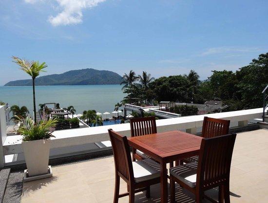 Serenity Resort & Residences Phuket : vue de notre terasse