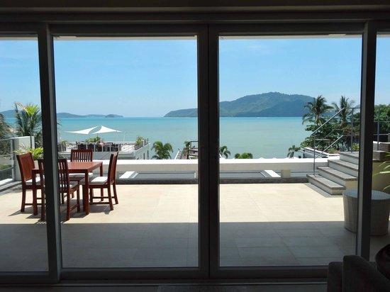 Serenity Resort & Residences Phuket : vue de notre appartement