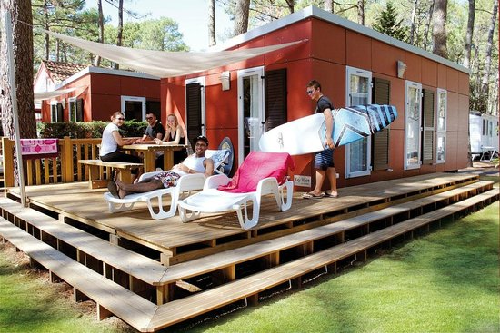 Camping picture of camping le vieux port messanges - Camping le vieux port plage sud 40660 messanges france ...