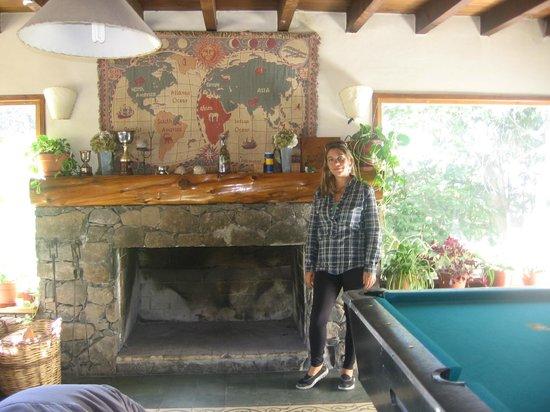 Hostel La Angostura: Estar