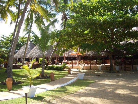 Orangea Village: La zona ristorante