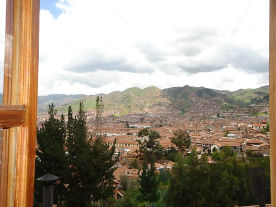 Quinua Villa Boutique: This the view of Cusco from Pukara Wasi
