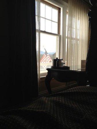 Stanley Hotel: Rm 238 View/window