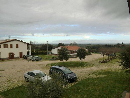 Il Marrugio: dal terrazzo della nostra camera