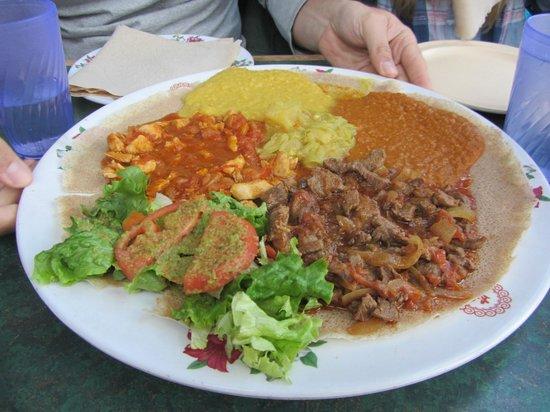 Axum Cafe: Optik ist nicht alles