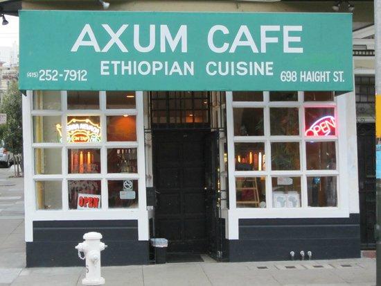 Axum Cafe: Außenansicht