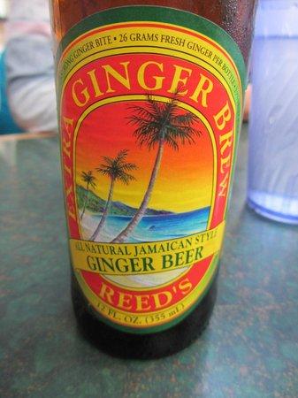 Axum Cafe: Geliebtes Ingwerbier ... ist übrigens alkoholfrei!