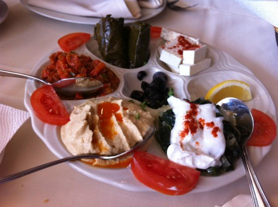 Empire Turkish Grill: Appetizers Sampler