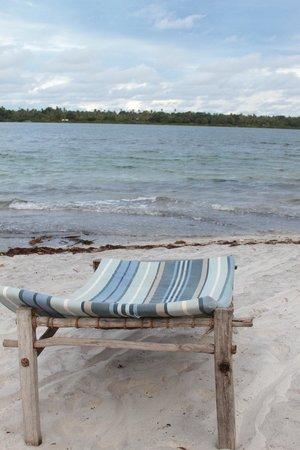 Mafia Island Lodge: Beach front facing Chole Bay
