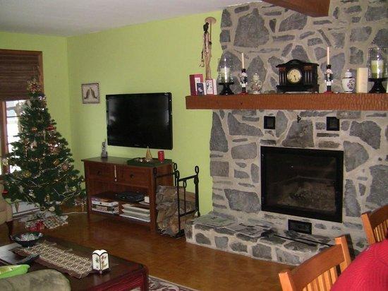 Au Gite de la Chute : living room