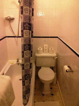 Ormonde House Hotel: Toilet space - too tight !