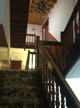 Carlos III: Staircase inside hotel