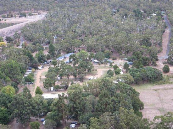 Halls Gap Lakeside Tourist Park : camp overview